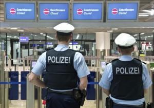 policía aeropuerto